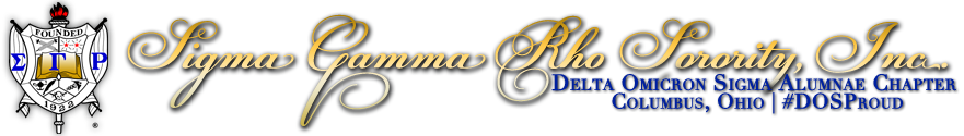 Sigma Gamma Rho Sorority, Inc. – Delta Omicron Sigma Chapter